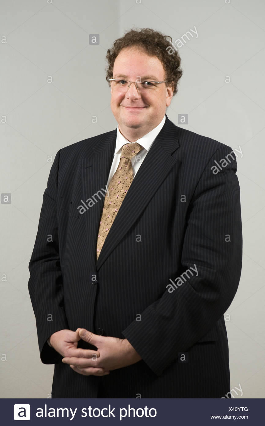 Olaf Zimmermann, Geschäftsführer des Deutschen Kulturrates und Herausgeber von Politik Und Kultur, Berlin, Deutschland, Europa Stockbild