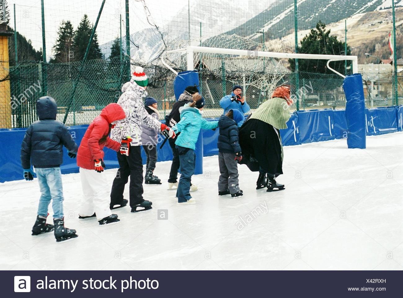 Sprinkler Eisbahn