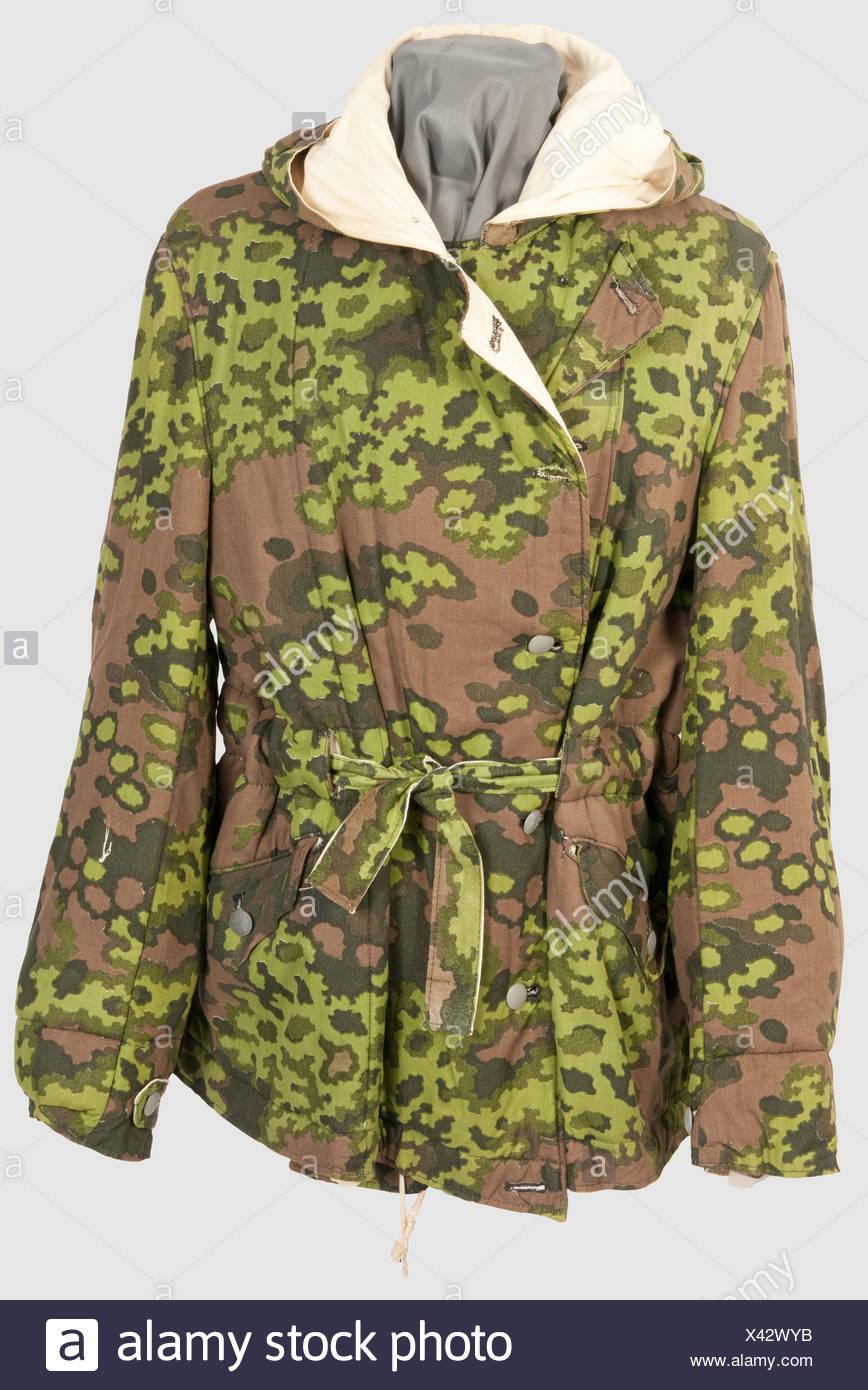 9aa455277095 Eine reversible Winterjacke im Frühjahr Tarnung, Problem mit Liner in  bräunlich-grüne Eiche Blatt