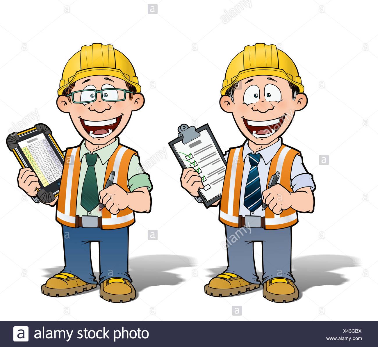 The Worker Cartoon Stockfotos The Worker Cartoon Bilder Seite 2