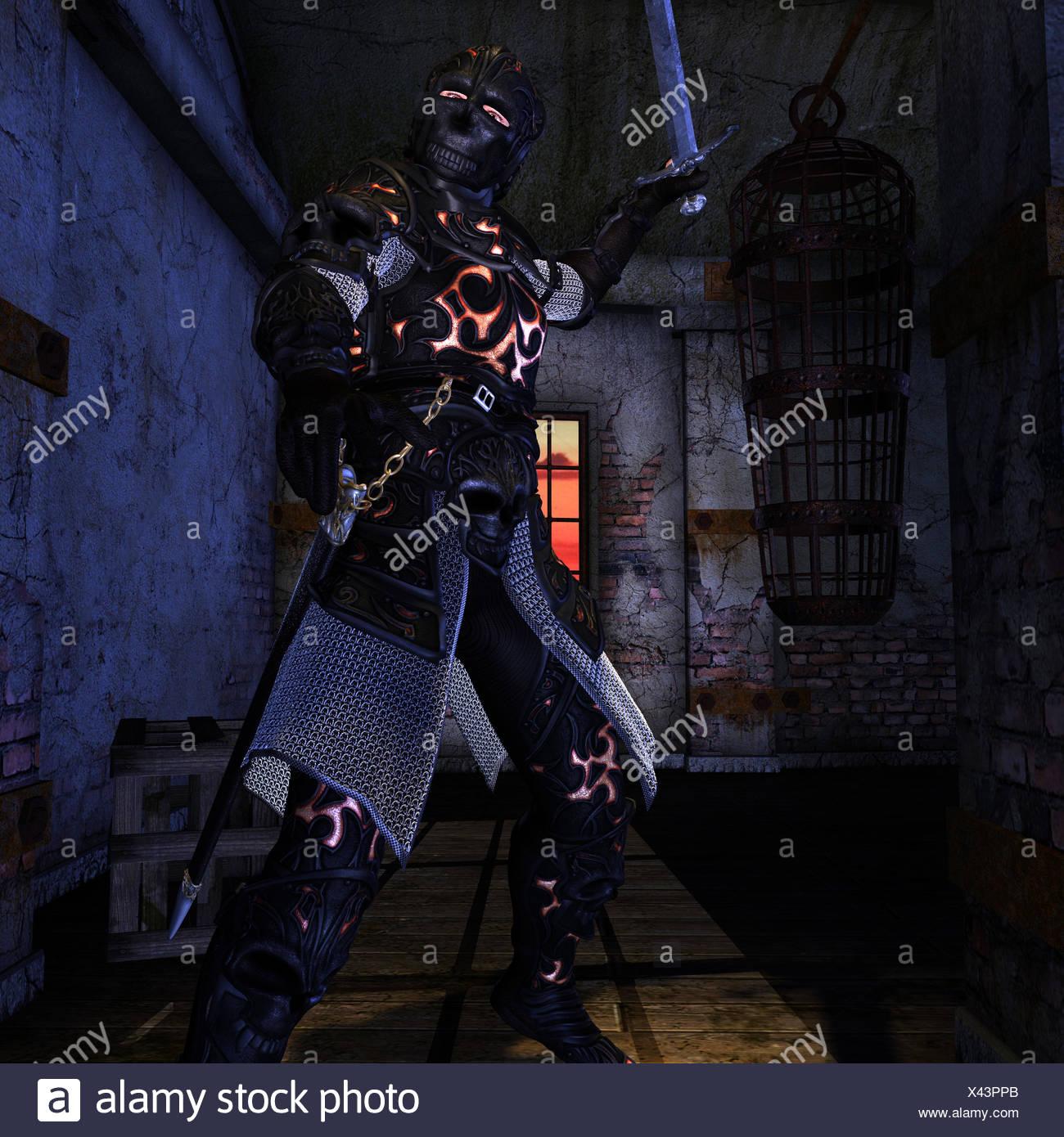 Der dunkle Lord Stockbild