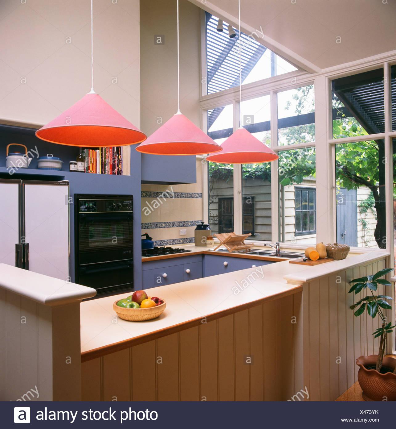 Ungewöhnlich Blau Pendelleuchten Für Küche Zeitgenössisch - Ideen ...
