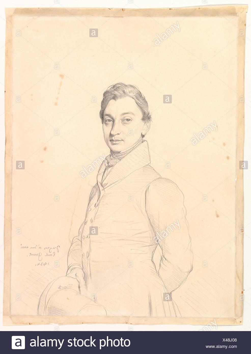 Der Anwalt Paul Grand. Artist: Jean Auguste Dominique Ingres