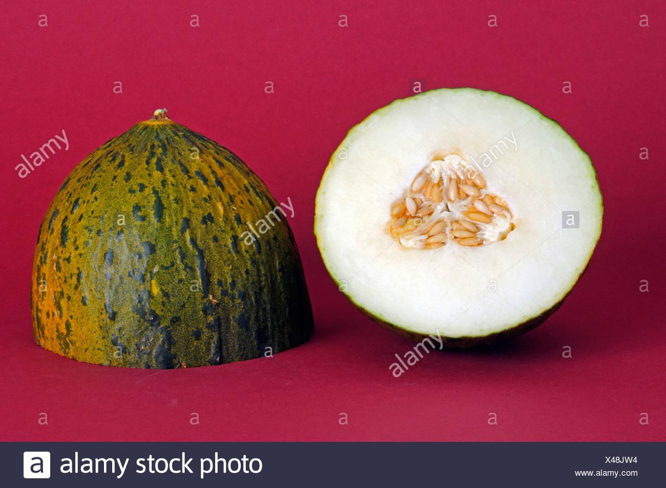 Honigmelone aus Brasilien Stockbild