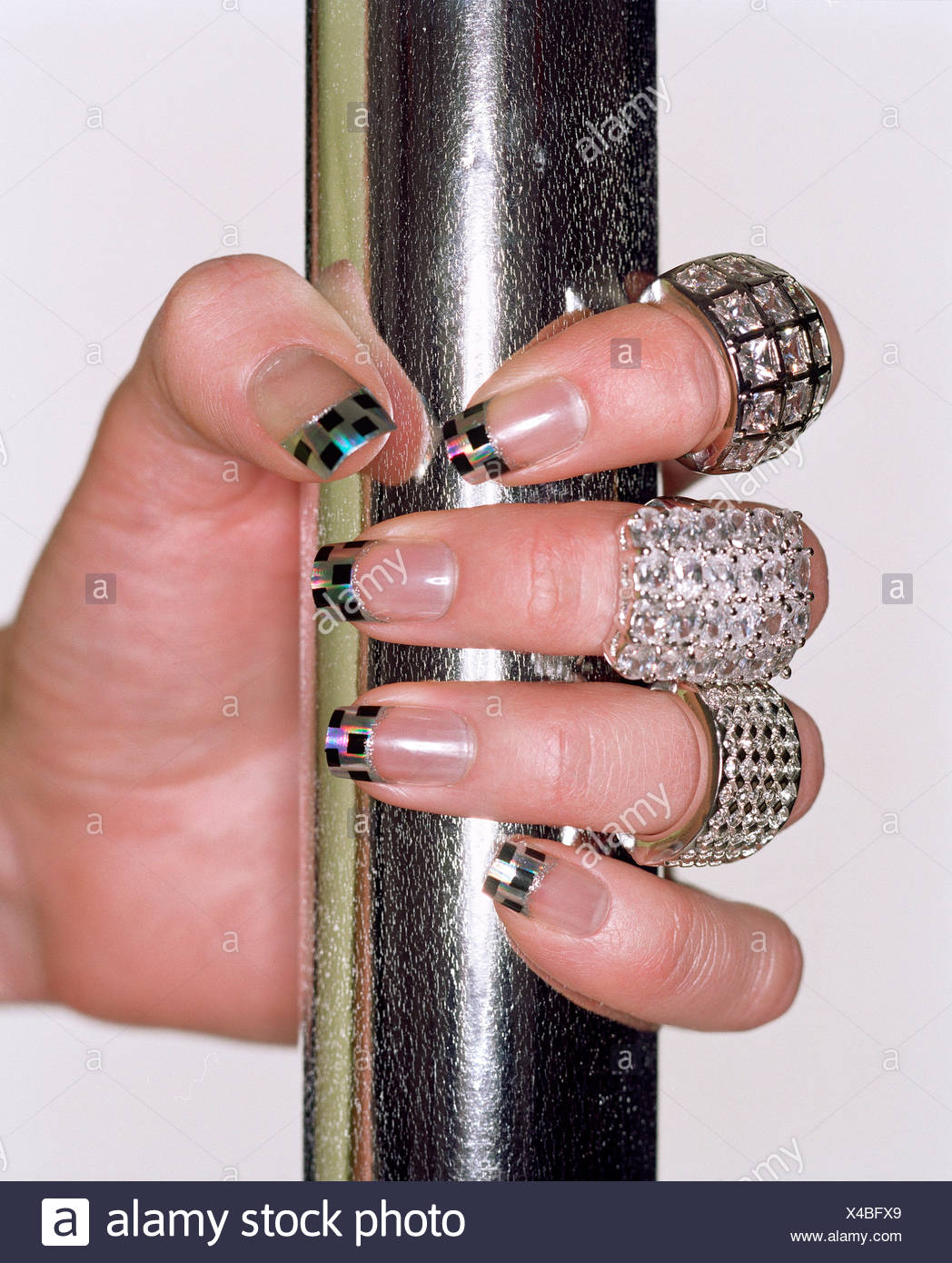 Silver Nails Stockfotos & Silver Nails Bilder - Alamy