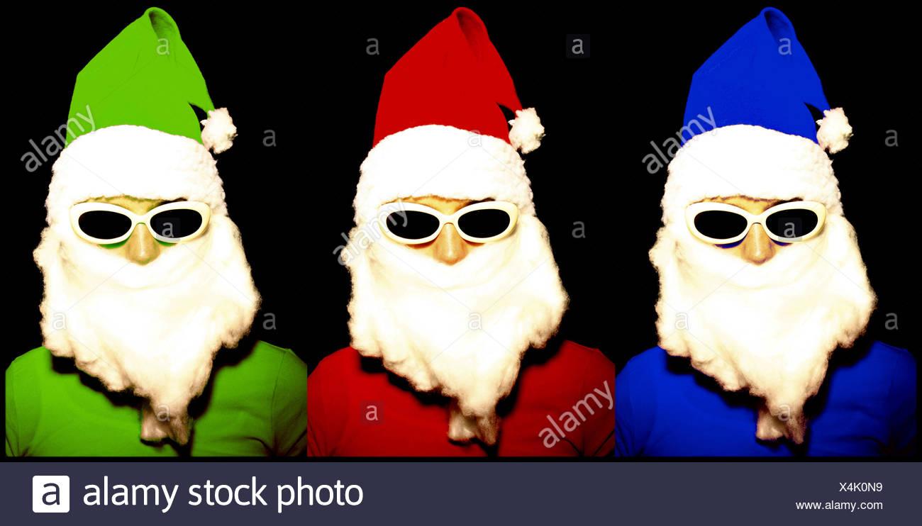 Fein Santa Färbung In Seiten Zeitgenössisch - Malvorlagen Von Tieren ...