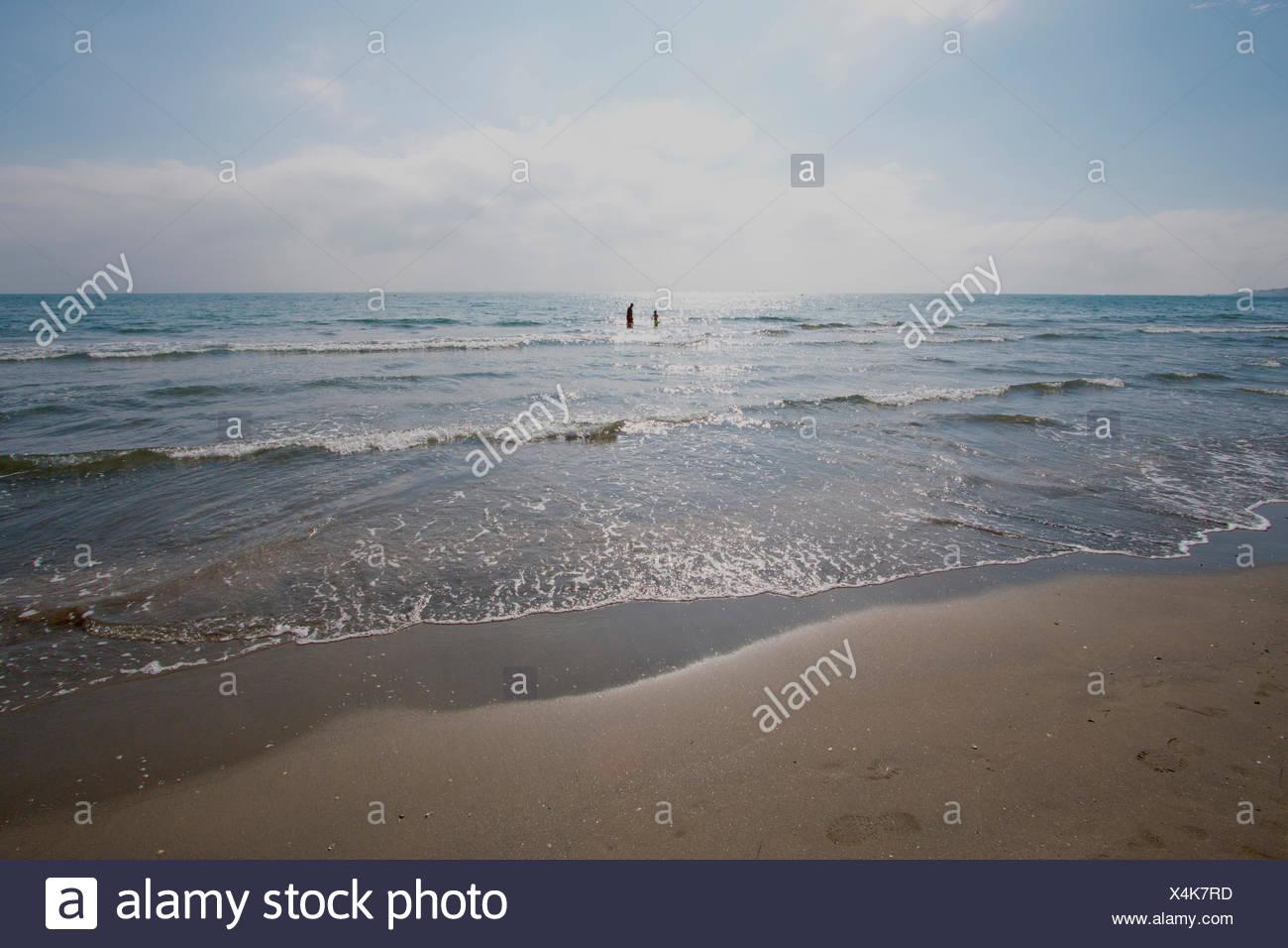 frankreich europa s te languedoc roussillon h rault strand meer sand strand himmel. Black Bedroom Furniture Sets. Home Design Ideas