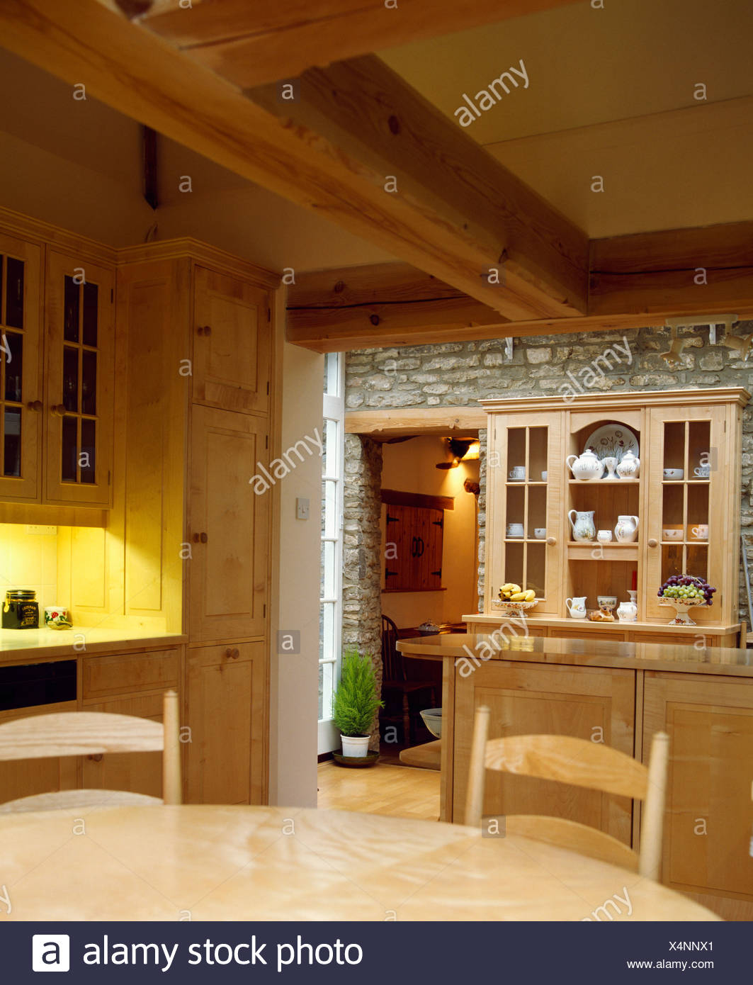 Großzügig Bauernküche Leuchten Fotos - Küchenschrank Ideen ...