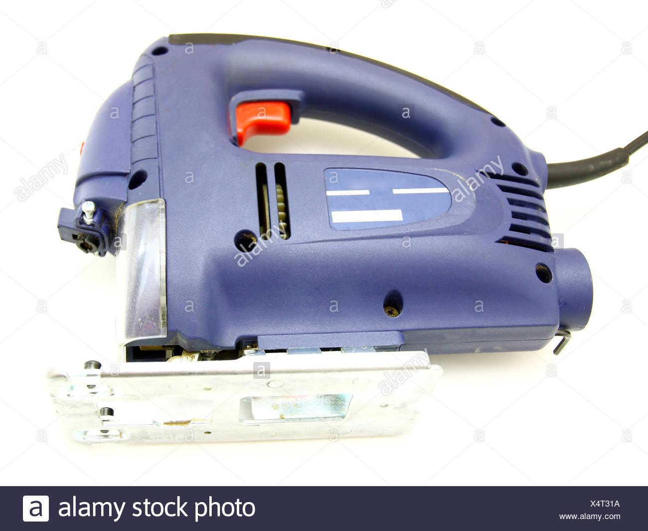 elektrische laubsäge stockfoto, bild: 278353750 - alamy