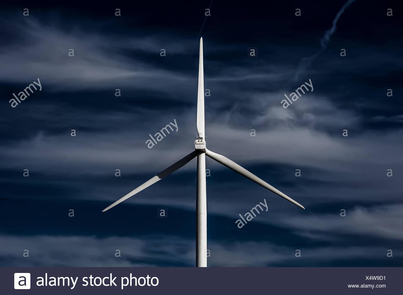 USA, Idaho, Windmühle Stockbild