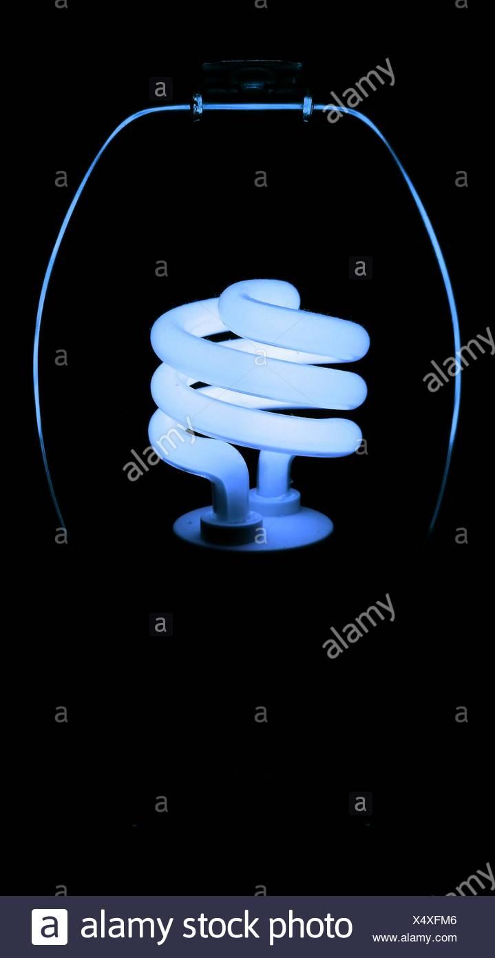 Nahaufnahme von Glühbirne Stockbild