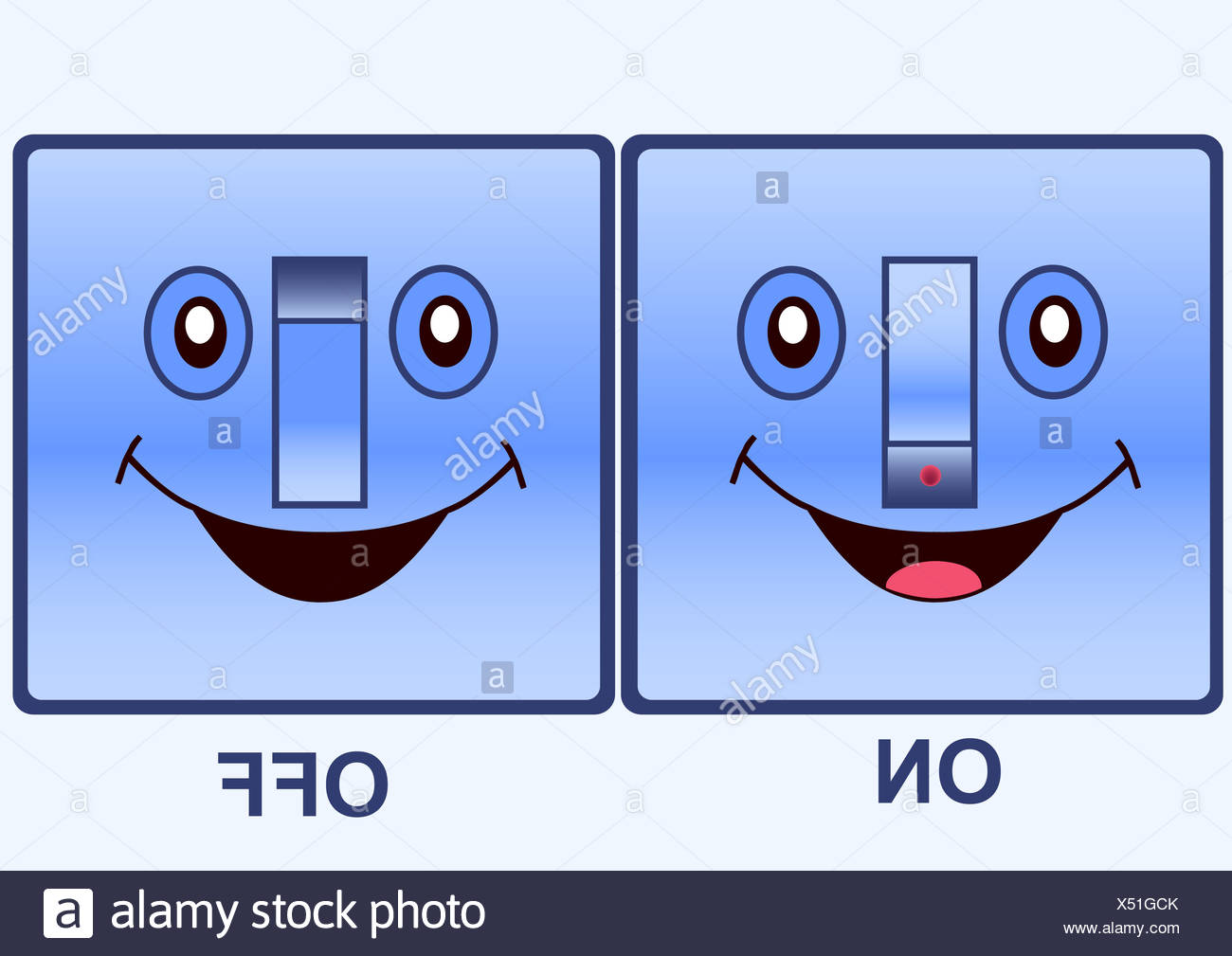 Cartoon Light Switch Stockfotos & Cartoon Light Switch Bilder - Alamy