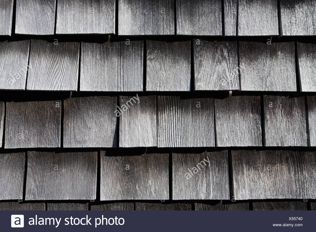 Holzschindeln Stockbild