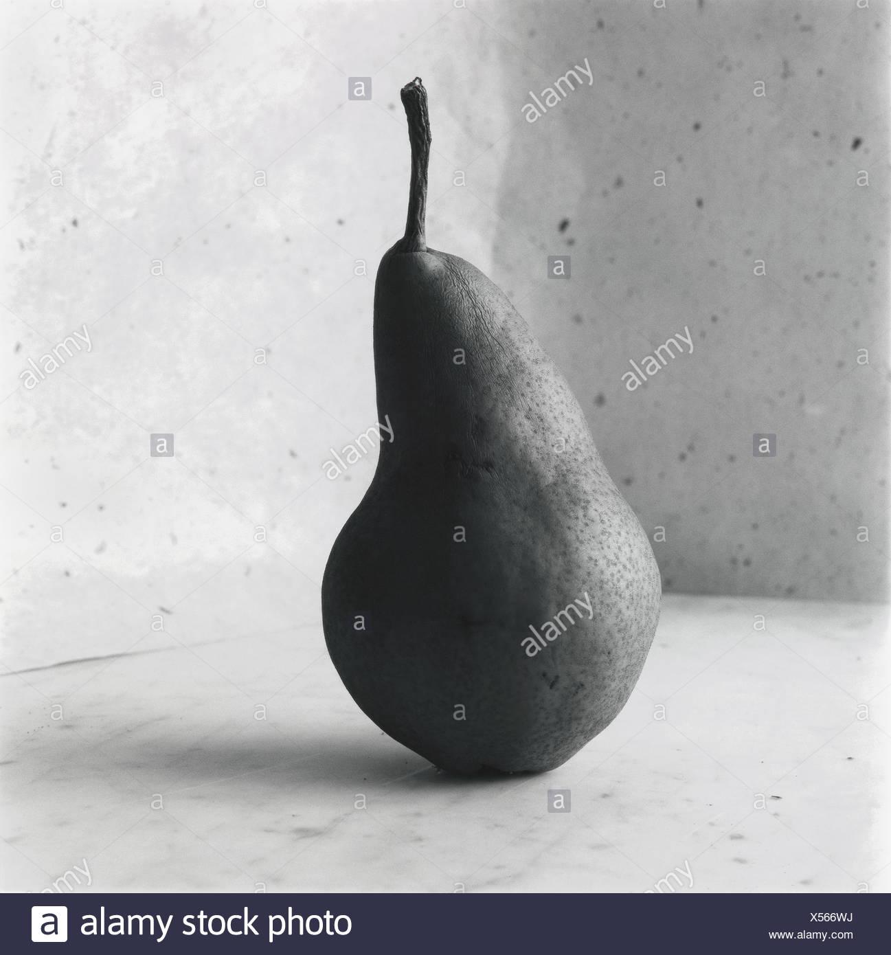 Eine Birne. Stockbild