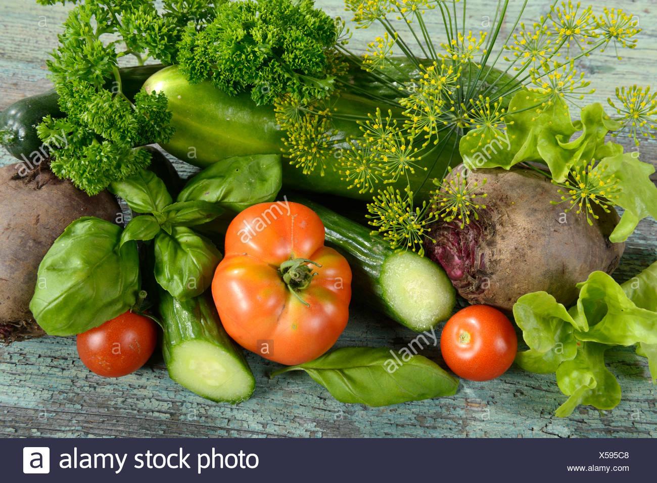 Verschiedene Gemüse Stockbild