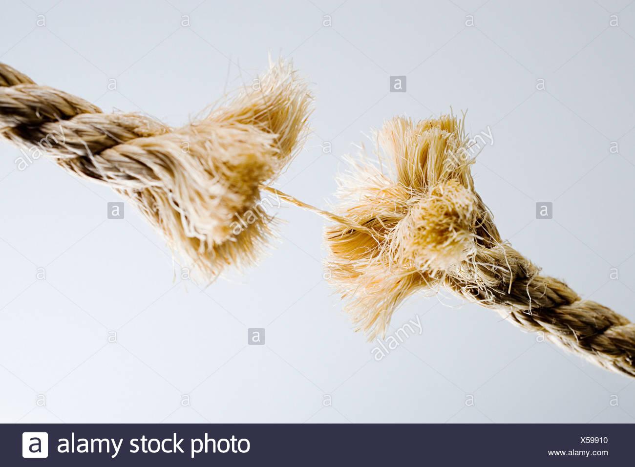 Seil-Bruch Stockfoto, Bild: 278643820 - Alamy