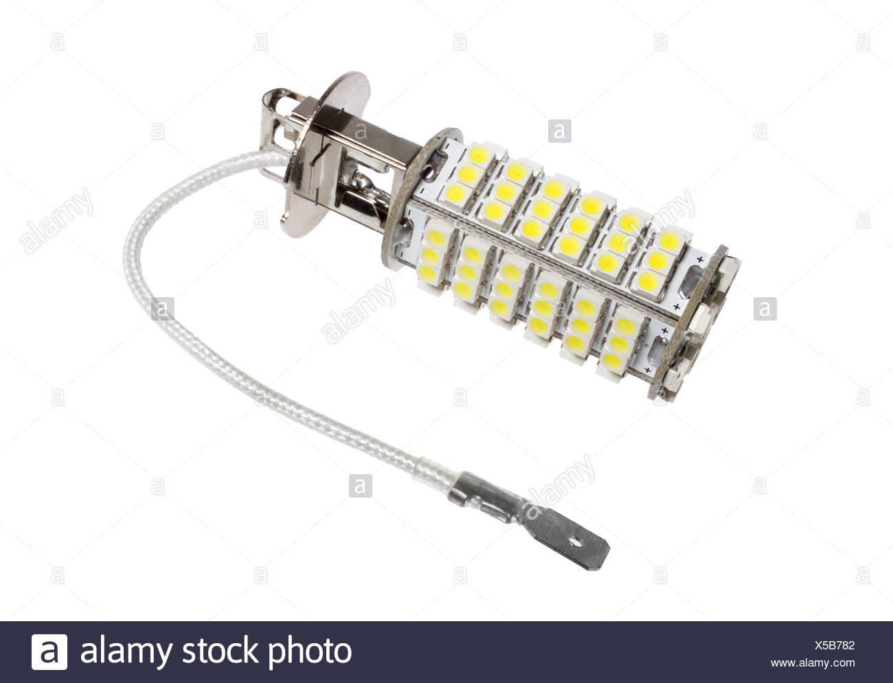 Auto Led Lampen : Led lampe für auto stockfoto bild alamy