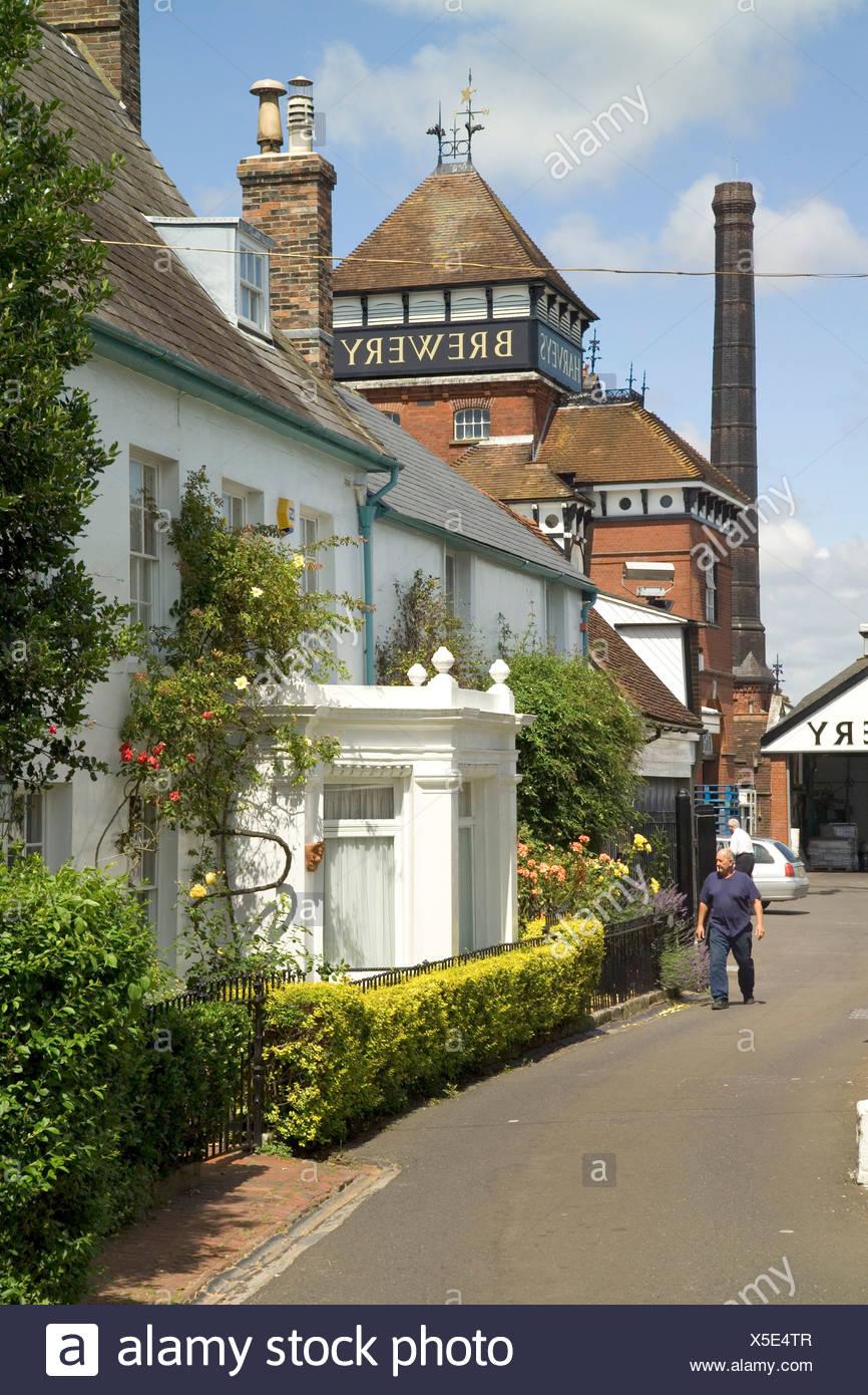 Lewes, East Sussex, England Stockbild