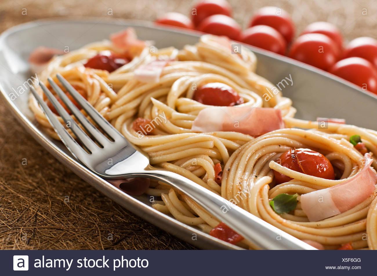 Spaghetti Sauce Gemüse Italienisch Essen Speise Mahlzeit