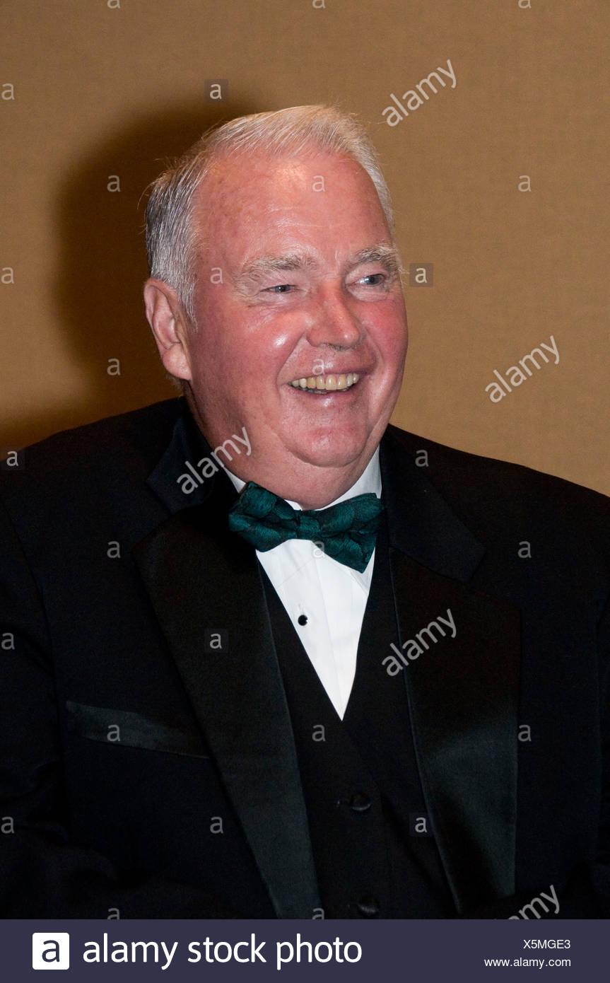 Alaska-Gouverneur Frank Murkowski am 50. Jahrestag Staatlichkeit Abendessen, Cap't Cok Hotel, 14.11.08 Stockbild