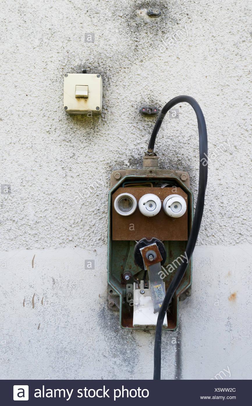 Lichtschalter Stockfotos & Lichtschalter Bilder - Alamy