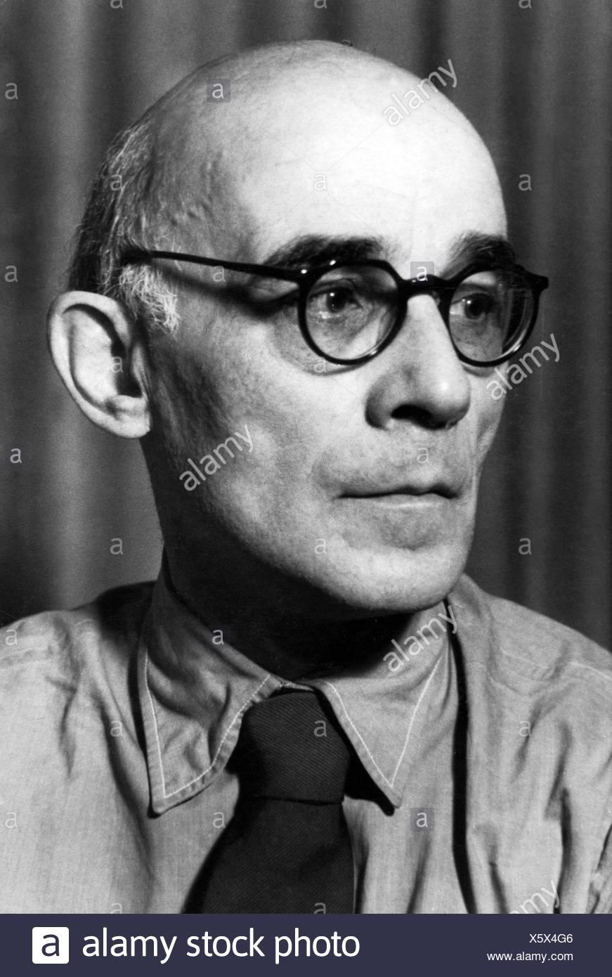 Engel, Erich, 14.2.1891 - 10.5.1966, deutscher Theater- und Filmregisseur, Porträt, 1940er Jahre, Additional-Rights-Spiel-NA Stockbild