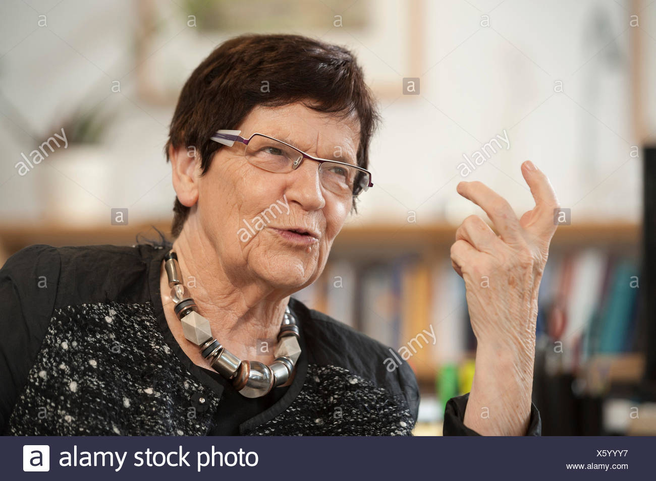 Rita Süssmuth, Berlin, Deutschland Stockbild