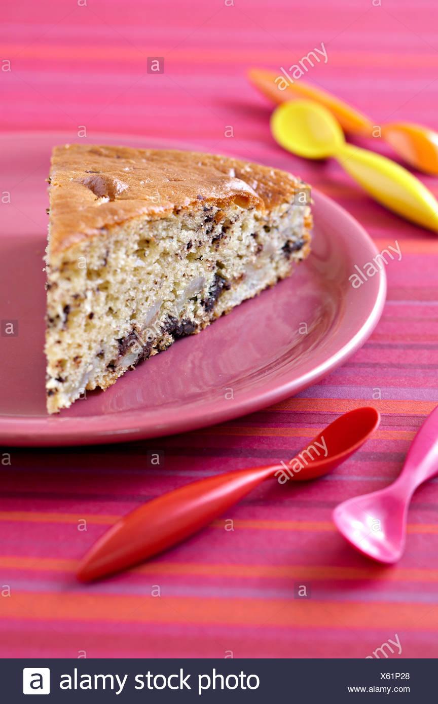 Joghurt Bananen Kuchen Stockfoto Bild 279093088 Alamy