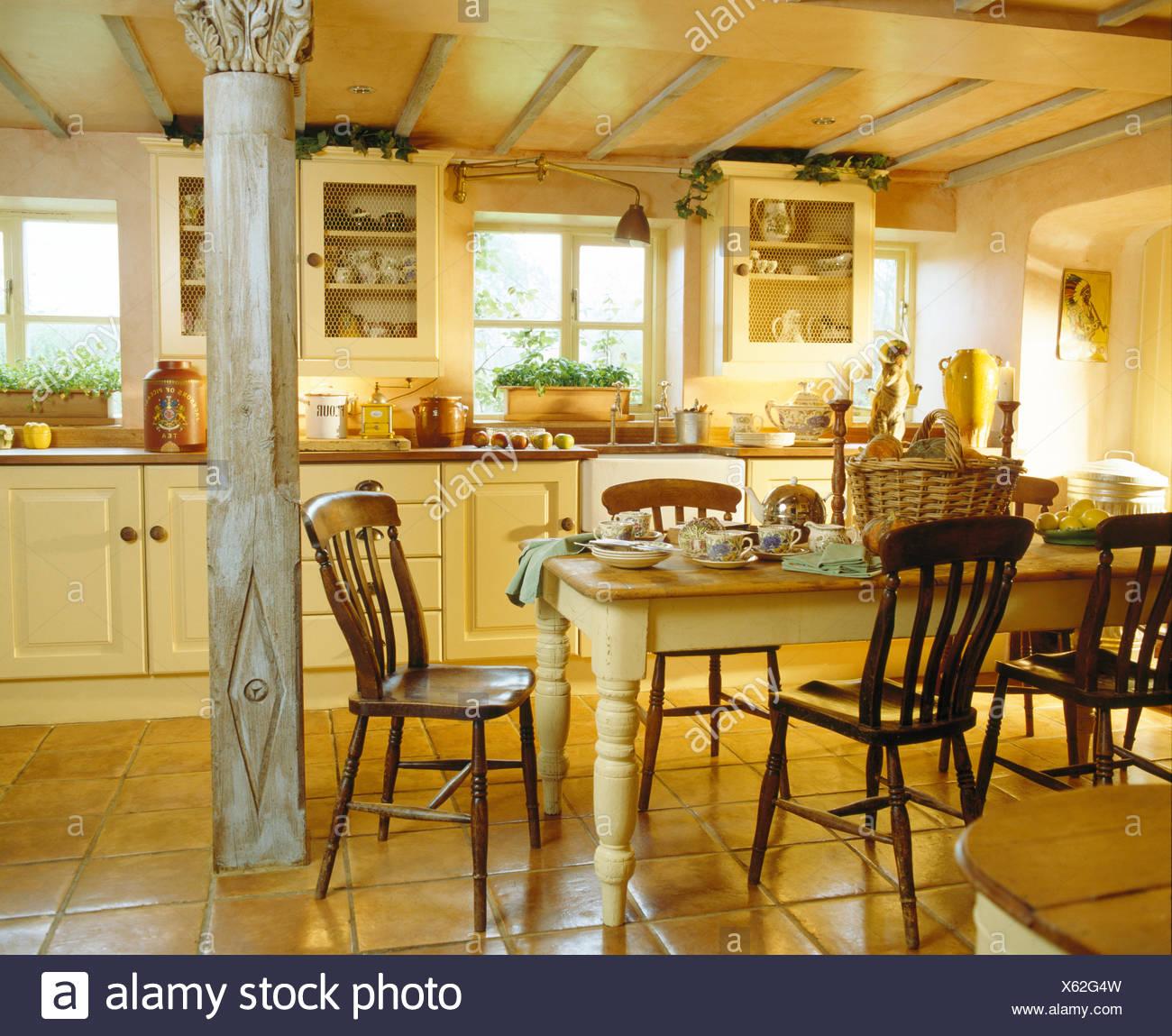 Schön Bauernküche Entwirft Uk Fotos - Küche Set Ideen ...