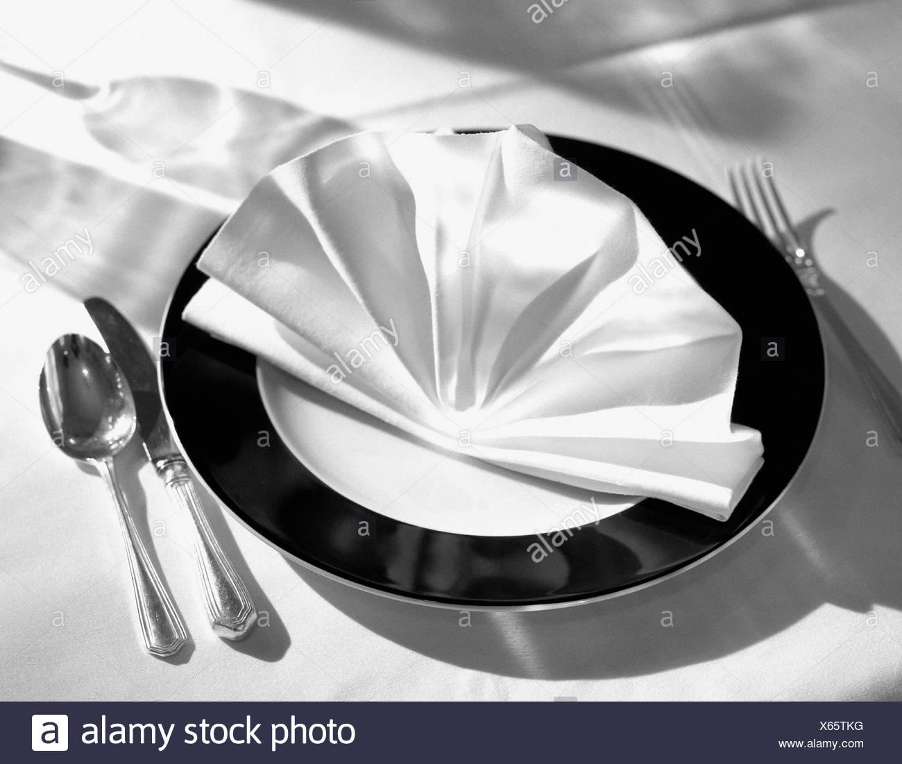 Elegante tablewear Stockbild