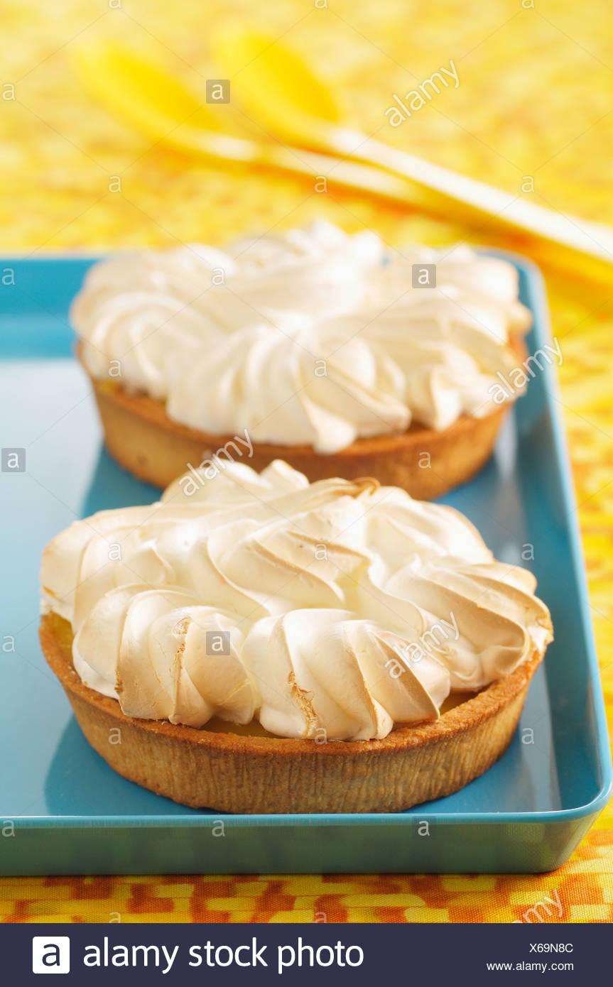 Zitronen Baiser Kuchen Stockfoto Bild 279268092 Alamy