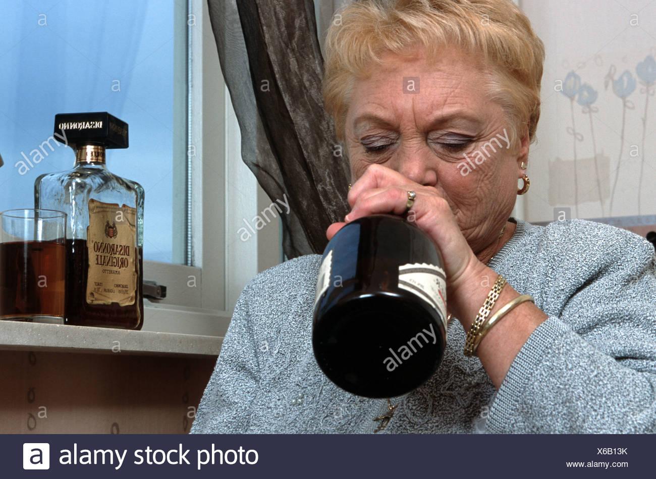 Frau Betrunken