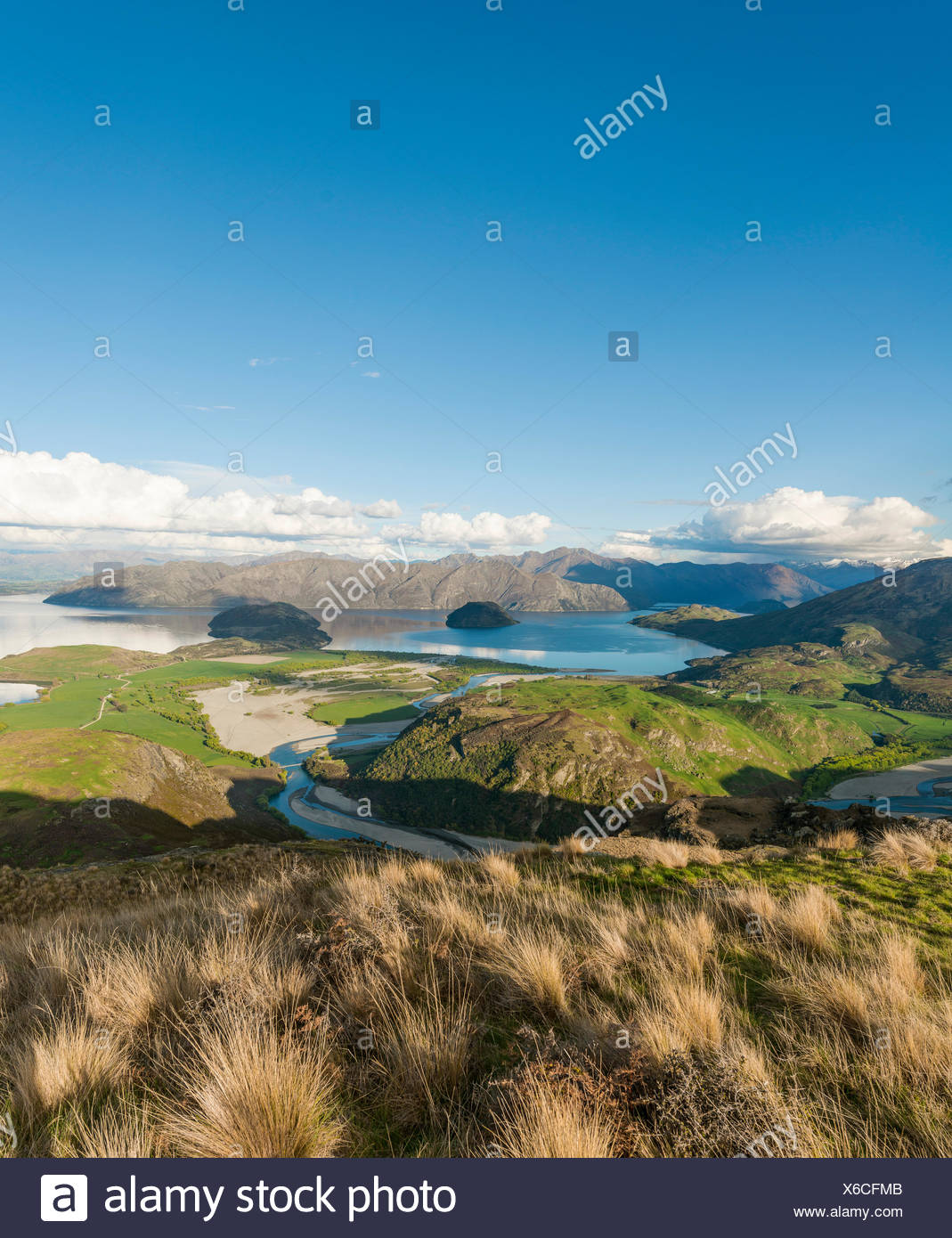 Lake Wanaka Otago Neuseeland Ansichtskarte