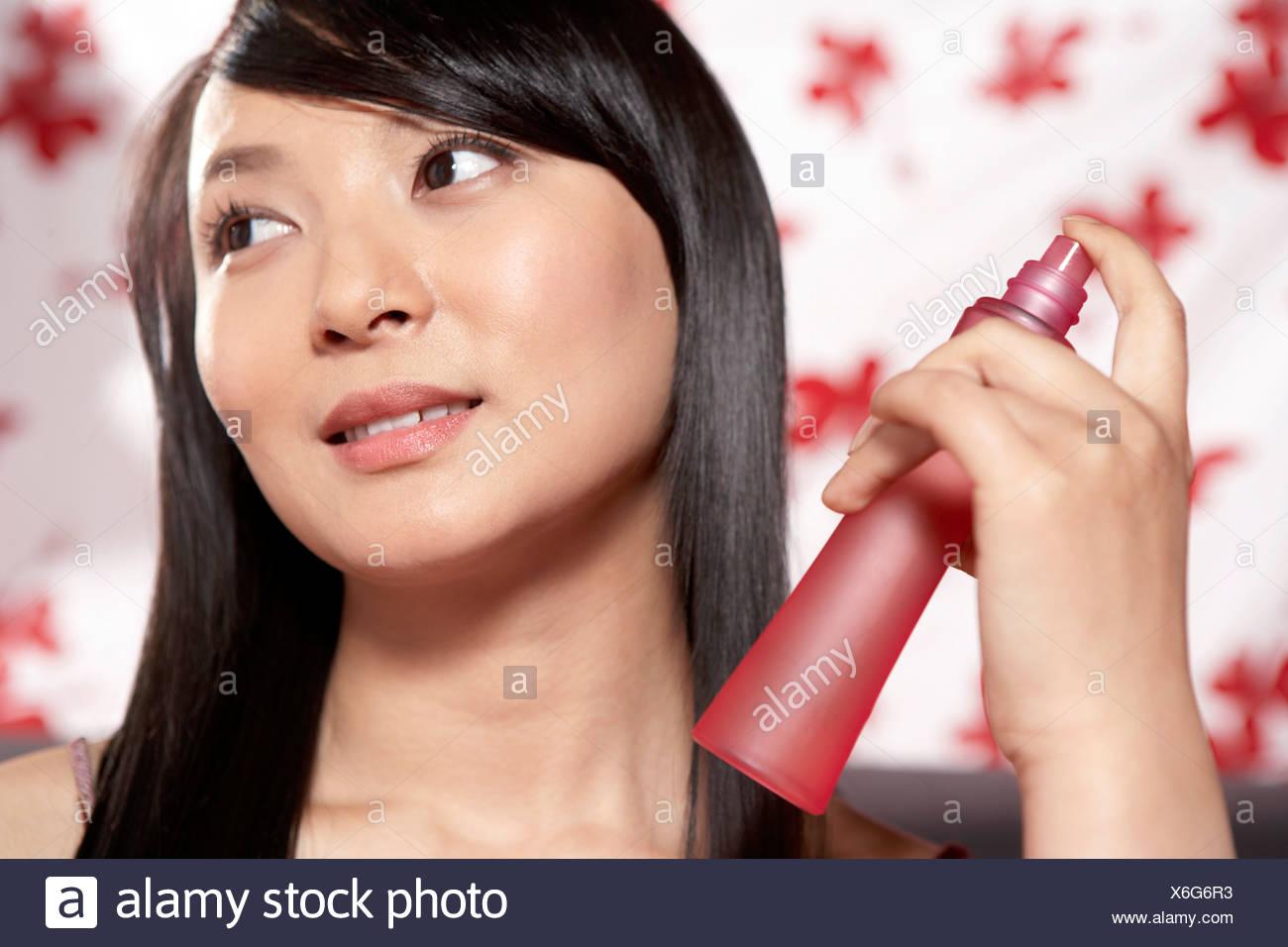 Frauen spritzen Bilder