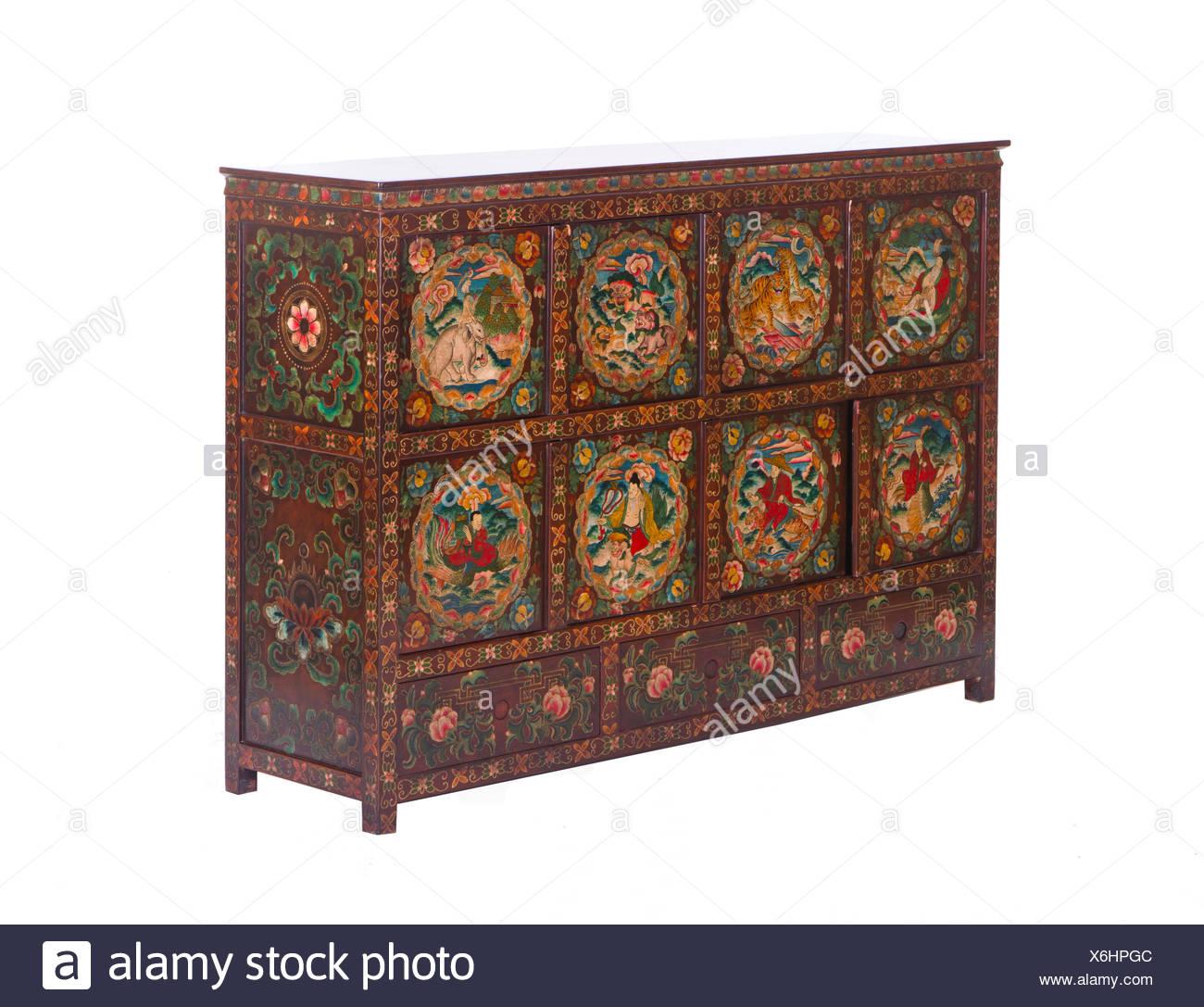 Antike chinesische Schränke Stockfoto, Bild: 279444716 - Alamy