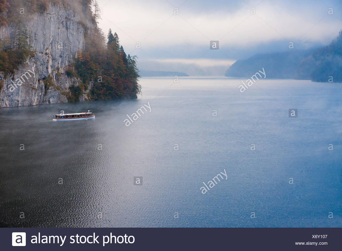 Berchtesgadener Land, Berchtesgaden, Nationalpark, Wasser, See ...