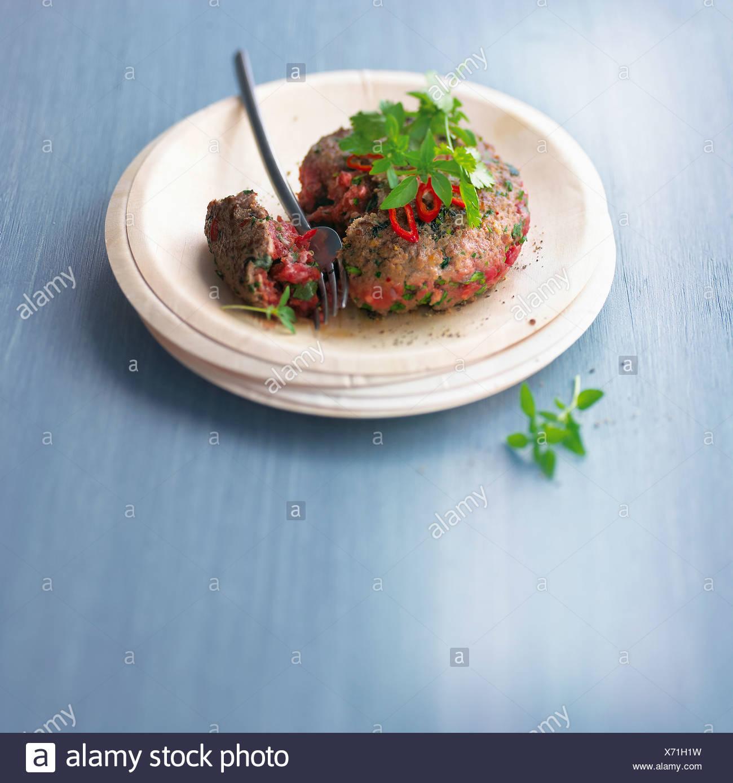 Sehr seltene hamburger Stockbild