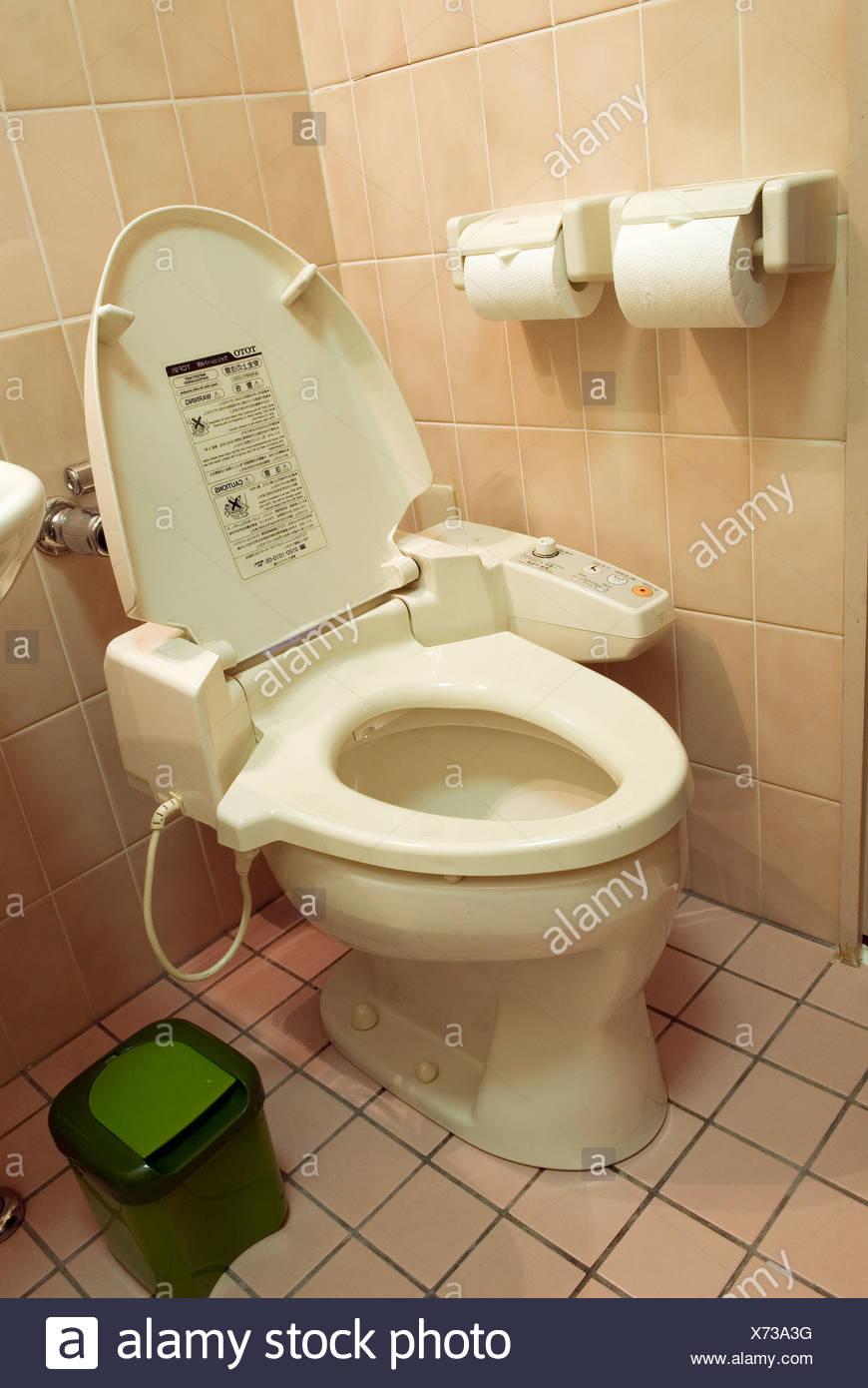 Japanische Toilette anspruchsvolle japanische toilette stockfoto bild 279742276