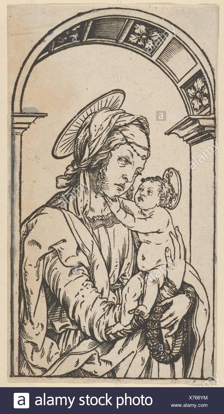 Künstler Augsburg jungfrau und unter einen bogen künstler hans burgkmair