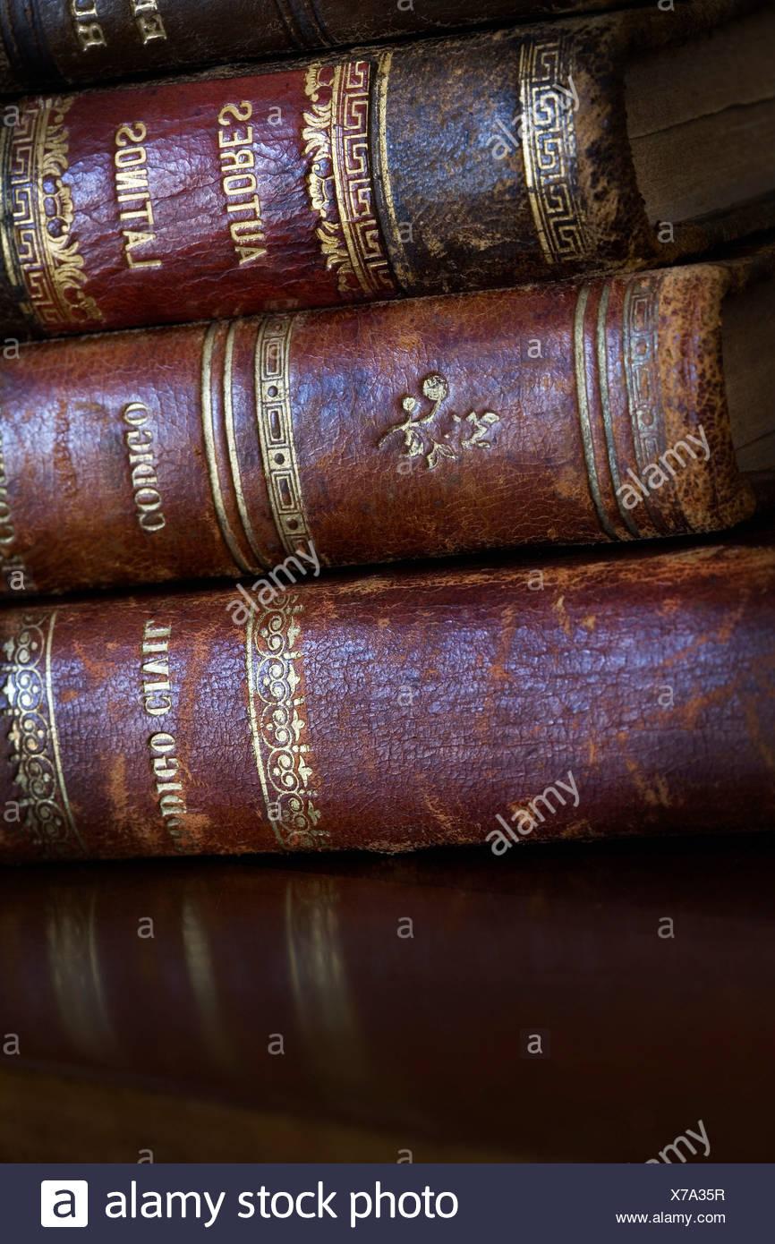 Bodegón De Libros Antiguos Apilados Stockfoto Bild 279890515 Alamy