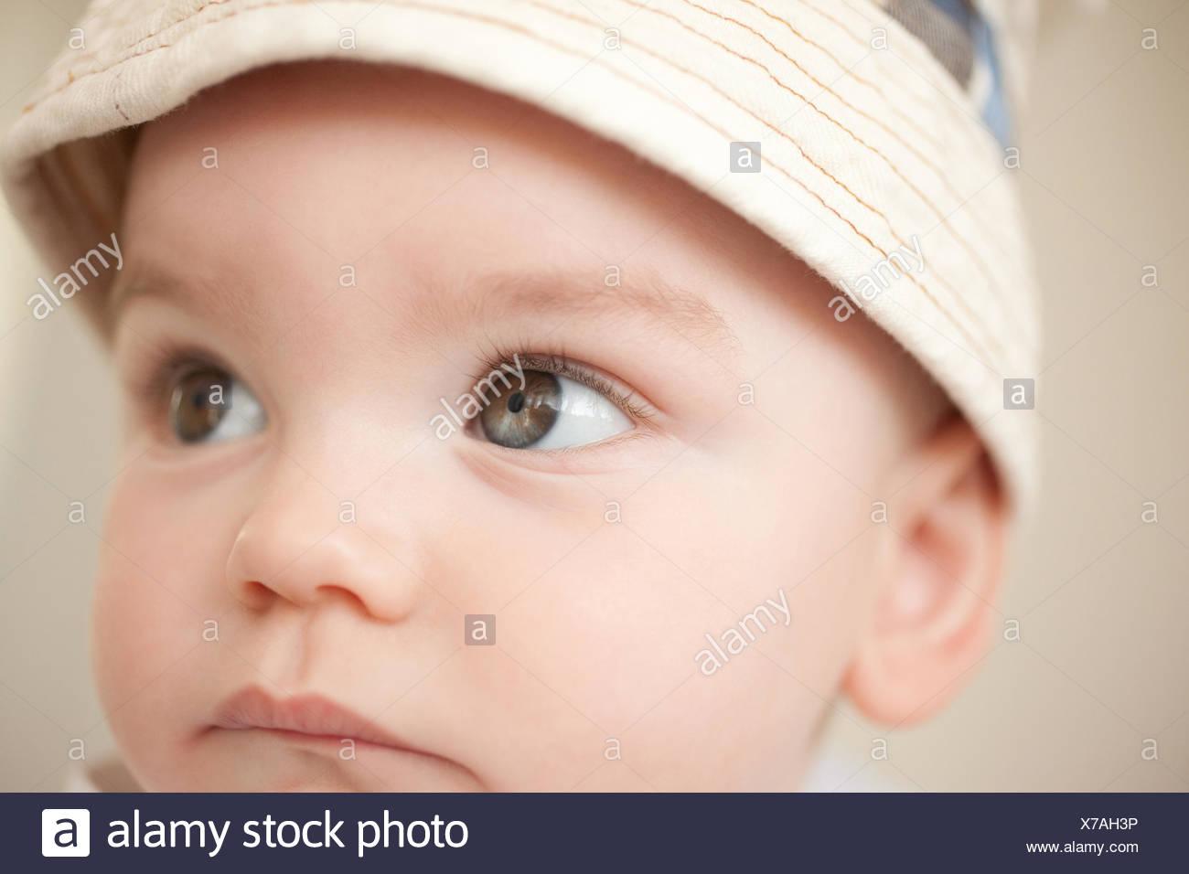 Nahaufnahme von schweren baby Stockbild