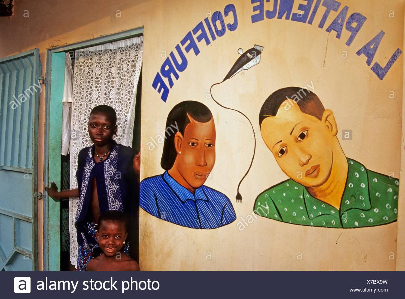 Salon de Coiffure, Friseursalon, Hair Salon, Benin, Golfe de ...