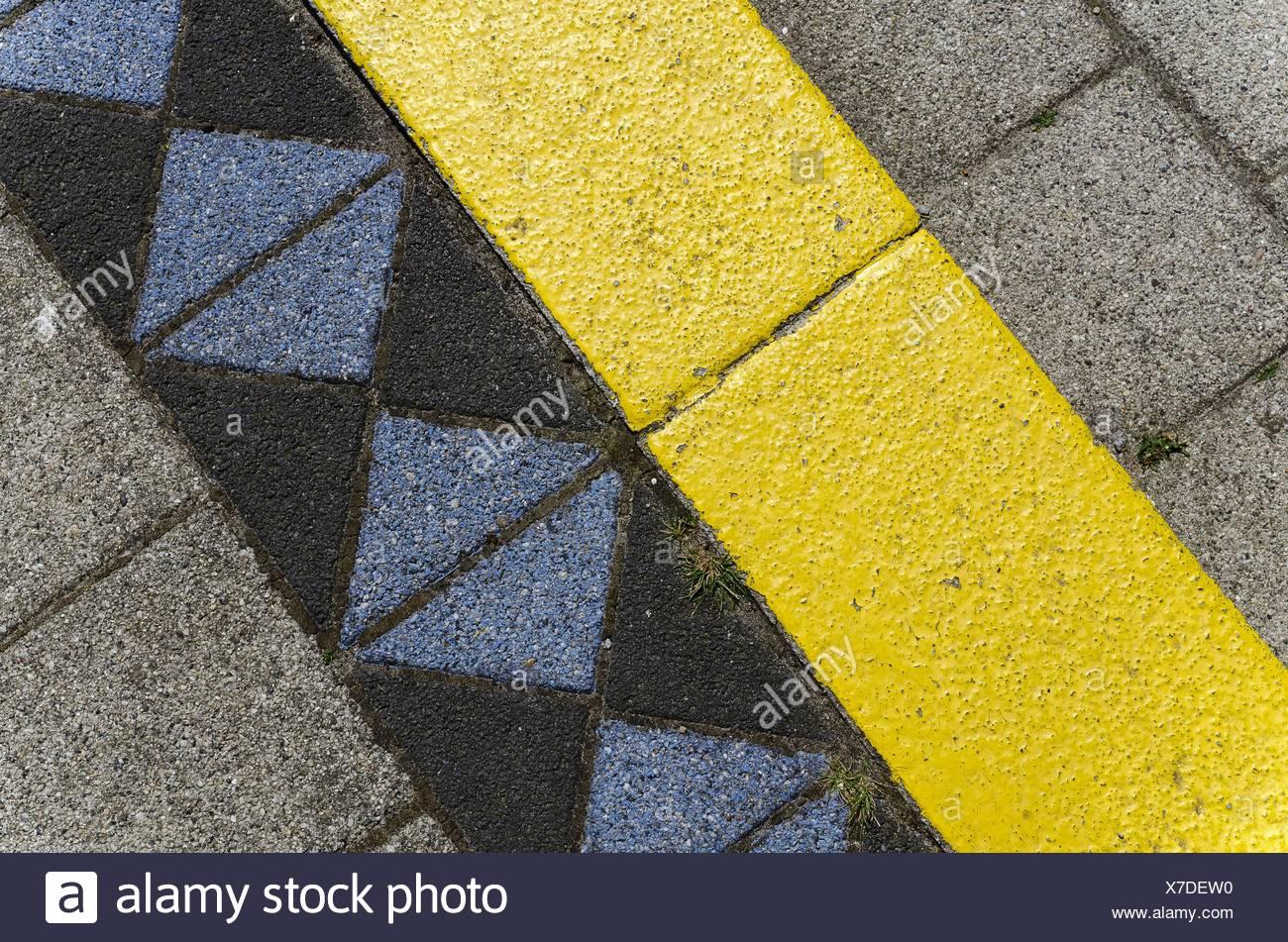 Kunststein Stockfotos Kunststein Bilder Alamy - Farbige betonplatten