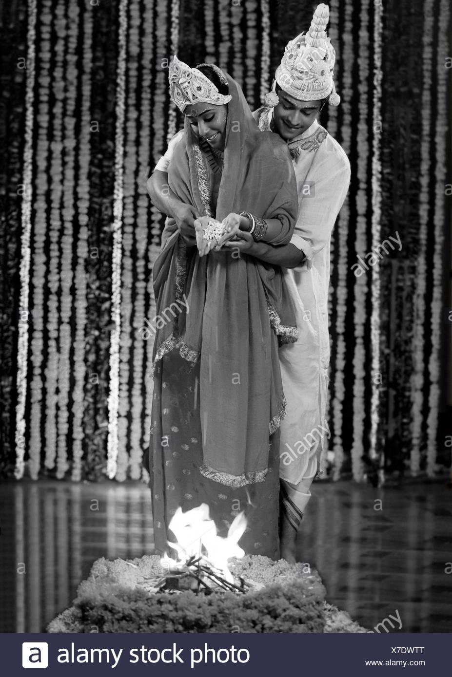 Indische Hochzeitszeremonie Stockfoto Bild 279974152 Alamy