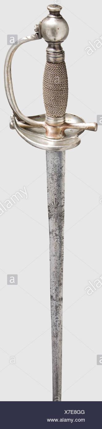 Eine seltene PREUSSISCHE Garde du Corps Officer klein - Schwert ...