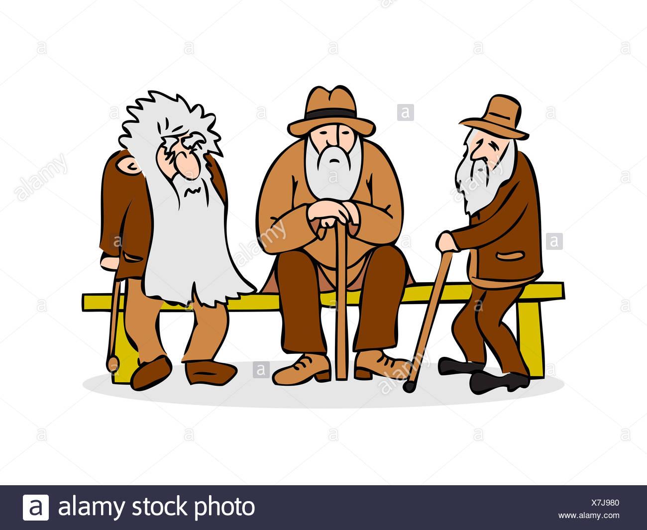 alter mann lustig