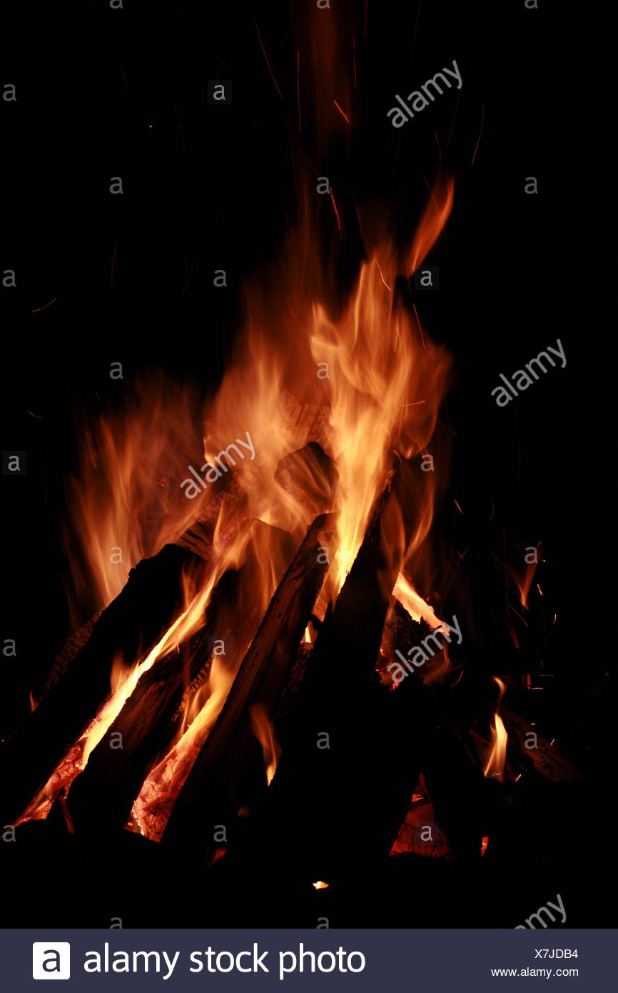 Holz, Nacht, Nacht, heiß, Hitze, Feuer, Flächenbrand, Flamme ...
