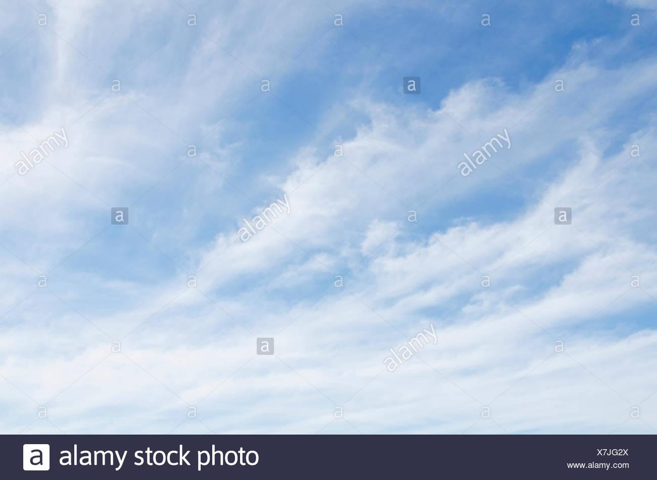 Malerische Wolkengebilde Stockbild