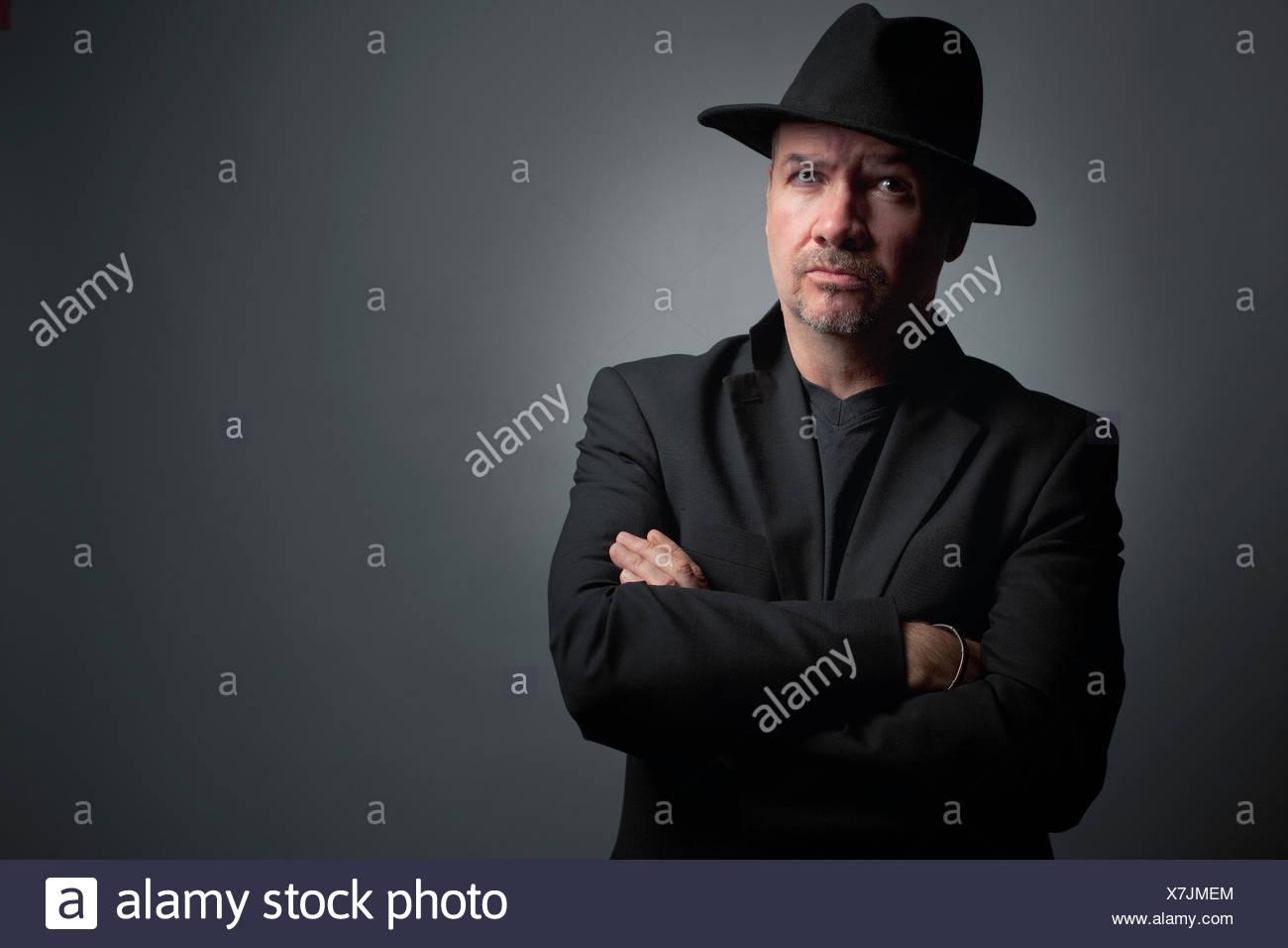 Hut tragen mann