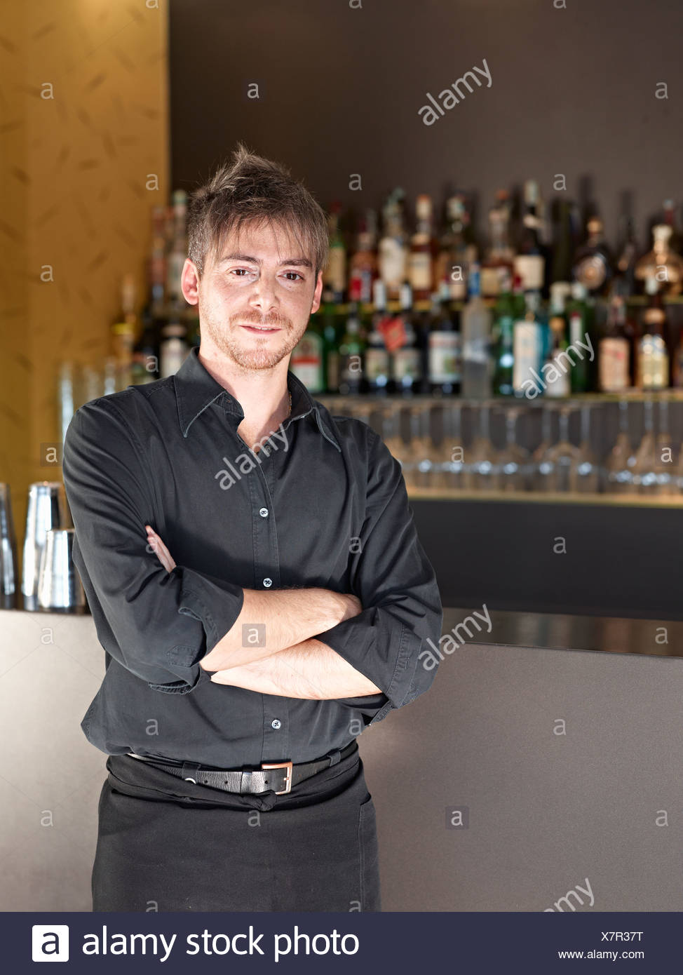 Bar-Tender Stockbild